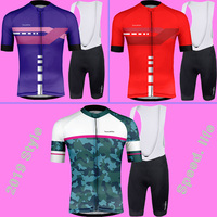 2019 RUNCHITA Cycling Jersey Shirts Men Short Sleeve kit ciclismo ropa set Quick Dry MTB Bike Riding Tops Italy MITI Non Slip