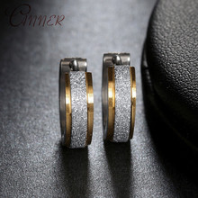 CANNER Small Round Hoop Earrings for Women Stainless Steel Simple Mini Circle Earings 2019 Fashion Party Men Punk Jewelry Gifts
