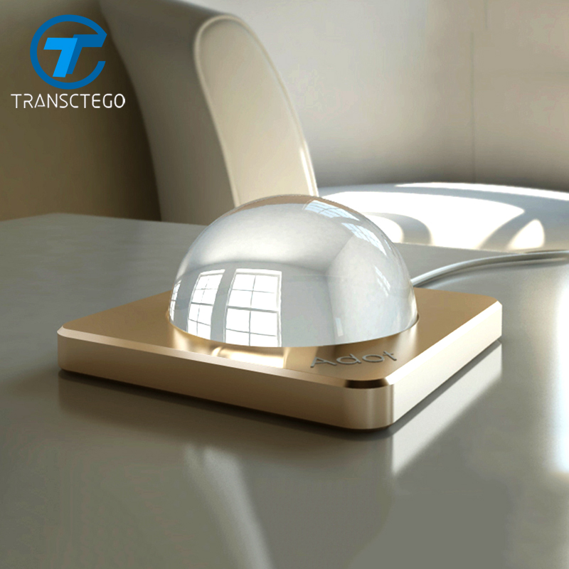 TRANSCTEGO LED Desk Lamp bedroom bedside lamp European modern personality energy-saving table lamps Touch Control