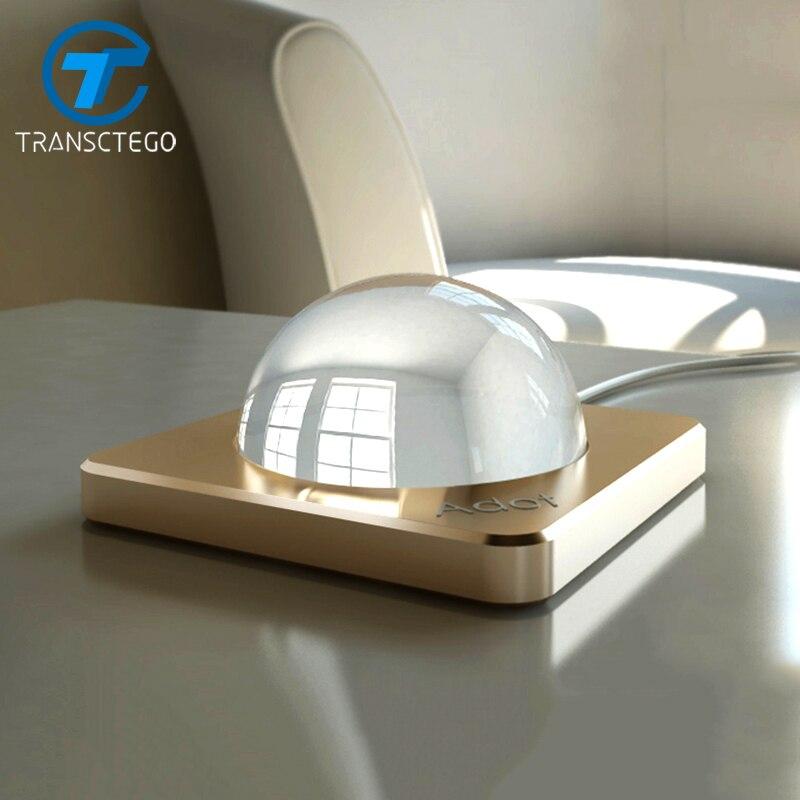 Transctego LED настольная лампа спальня ночники Европейский современный личность энергосберегающие настольные лампы Touch Управление