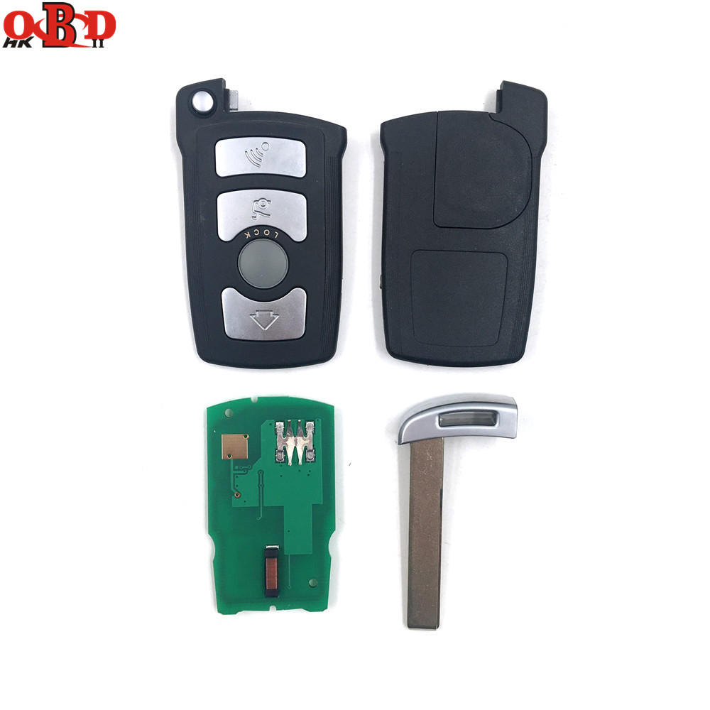 Image 4 - HKOBDII BM7 Full Remote Car Key 7945 chip for BMW 7 Series 730/740(E65/E66) CAS1/CAS2 Anti theft System 315/433/868MHZ-in Car Key from Automobiles & Motorcycles