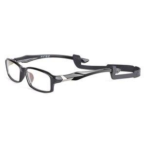 Image 1 - Reven Jate R6059 Acetate Full Rim Flexible Eyeglasses with Antislip string for Men and Women Optical Eyewear Frame Spectacles