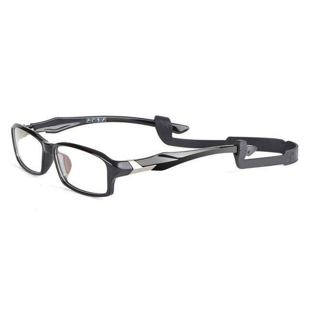 Reven Jate R6059 Acetate Full Rim Flexible Eyeglasses with Antislip string for Men and Women Optical Eyewear Frame Spectacles