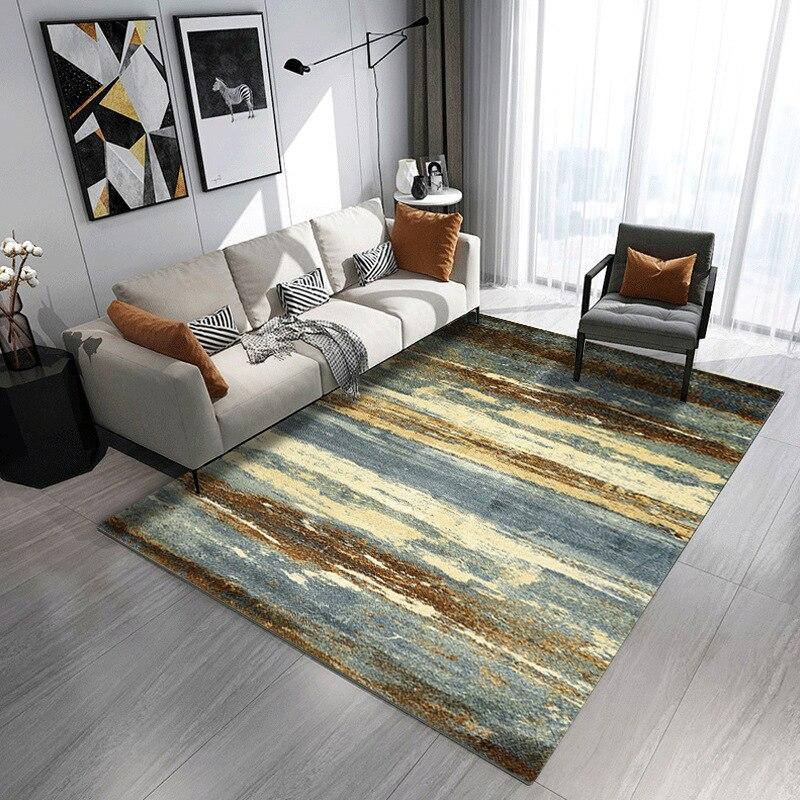 US $11.85 35% OFF|Nordic Carpets For Living Room alfombra Bedroom Rugs  Floor Modern Art 3D Carpet Kids Room Mat Soft Floor Study/Dinning Rug-in  Carpet ...