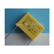 Pengiriman безвозмездно 10 шт. конденсатор Безопасности x2 конденсатор 275v474 0.47 мкФ 275 В 15 мм p…