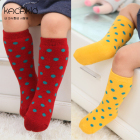 Kacakid Winter Baby Socks Cute Dot Socks Baby Girl Padded Warm Cotton Socks 0-24 Months