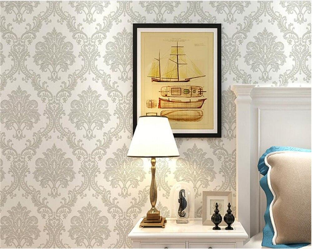 online kaufen großhandel big print tapete aus china big print ... - Wohnzimmer Tapete Blau