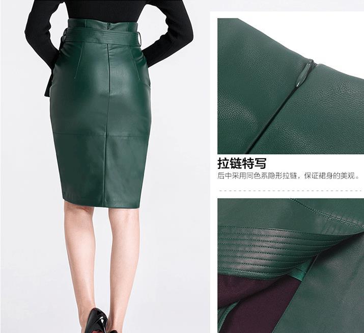 4XL Waist leather Autumn