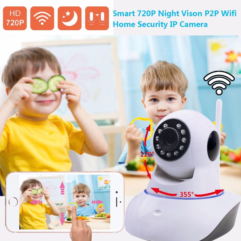ФОТО X-HONG IPC05 Home Security IP Camera Wifi wireless CCTV Camera 720P HD two way voice motion sensor Night Vision support SD Card
