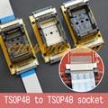Программа Испытаний сварки SMD TSOP48 к TSOP48 тест разъем Шаг = 0.5 мм TSOP48 На линии тест гнездо