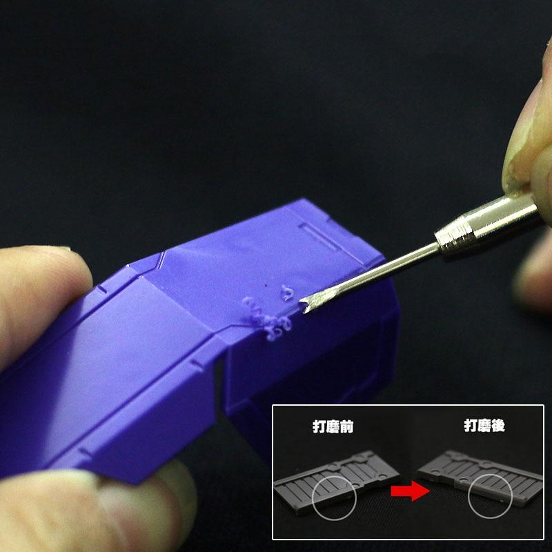 Modification Of Model Details Grinding All - Metal Scraper Model Arc / Fillet Grinder