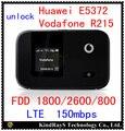 Desbloquear huawei e5372 lte de vodafone r215 4g lte wifi router 4g mifi bolsillo de 4g 3g Dongle fdd pk r212 e5377 e5577 e5878 e5776 e589