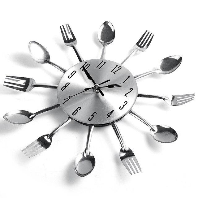 Moda Moderno Diseño Fresco Astilla Cuchara Tenedor Cubiertos ...