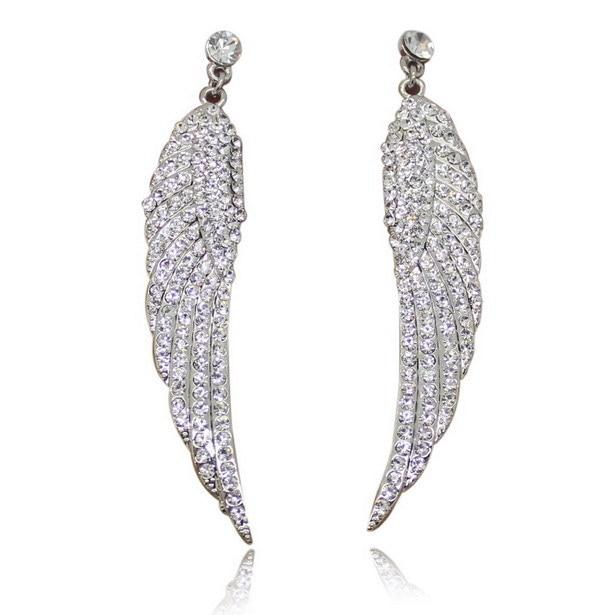 Nowe mody uroku kobiet stadniny kolczyki biżuteria klasyczne długie - Modna biżuteria - Zdjęcie 4