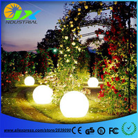 Grass Path Lamp Led Outdoor Floor Lamp Waterproof IP65 Rechargeable PE Material Round Balls Light