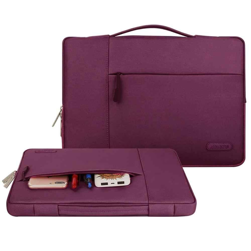 MOSISO 11 12 13 14 15 بوصة حقيبة لابتوب للماء للرجال النساء حقيبة لاب توب حالة ل 2018 جديد ماك بوك برو 13.3 15.6 الكمبيوتر با