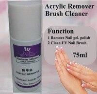 1 Pcs Ibd 75ml UV Gel Polish Acrylic Remover And Brush Cleaner Liquid For Nail Art