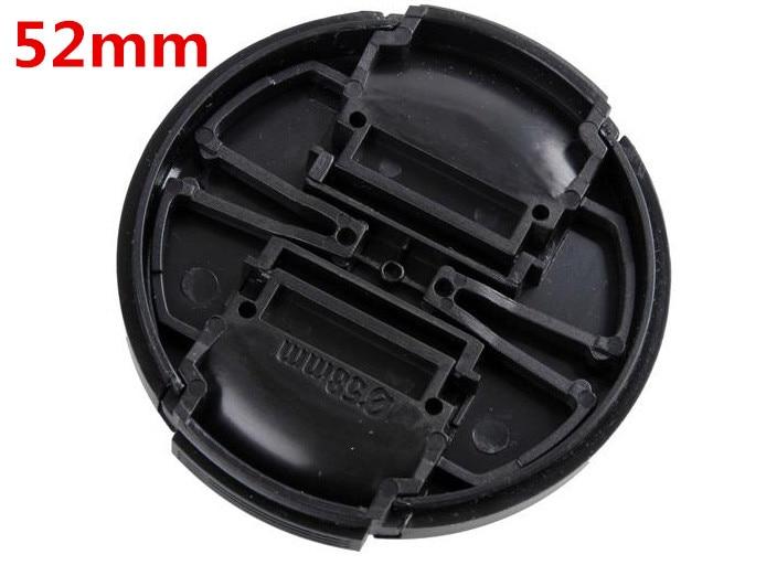 10 шт./лот Высокого Качества 52 мм Оснастки pinch центр-колпачок крышки для всех 52 мм Объектива камеры бесплатная доставка