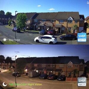 Image 2 - H.VIEW 5MP IP 카메라 와이파이 야외 2.4G 5G IP 카메라 와이파이 Onvif 풀 타임 컬러 CCTV 카메라 야외 H.265 CCTV 카메라 1080P