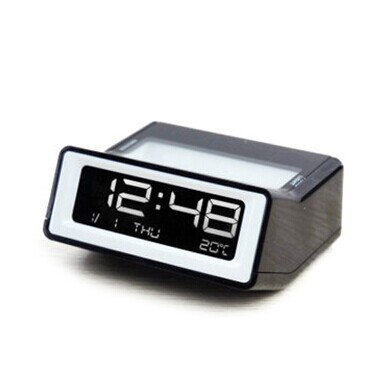 051427 Small fashion To sleep when the clock Silent night light lamp LED electronic multi-function alarm clock