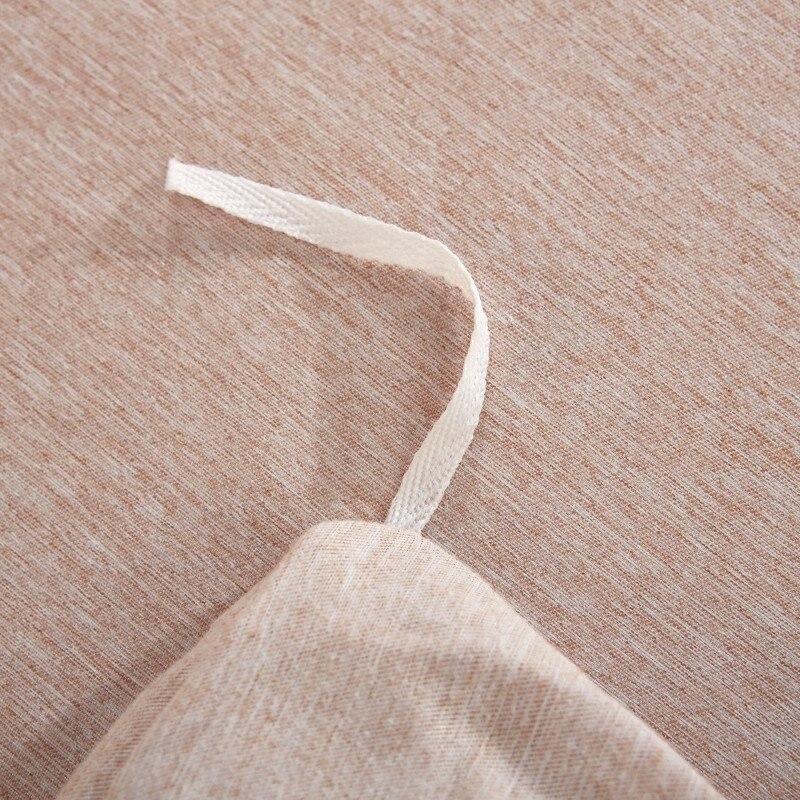 Embroideryluxury 4 pcs Fios tingidos de veludo de algodão conjuntos de cama queen size rei set capa de edredão saia da cama definir roupas de cama fronha - 5