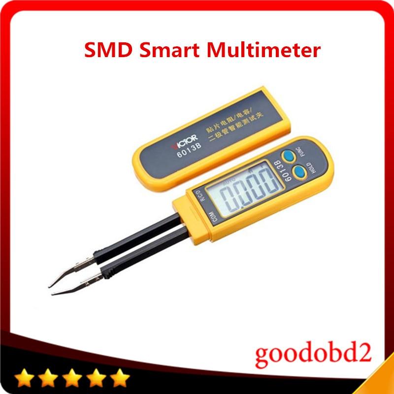 ФОТО VC6013B SMD Smart Multimeter Diode Capacitance Resistance Tweezers Mete
