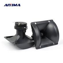 Aiyima 2 ชิ้นทวีตเตอร์ 87*87 มิลลิเมตรลำโพง Treble เสียงลำโพง Piezo Tweeter Driver หัว