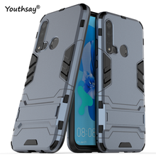 For Huawei P20 Lite Case 2019 Luxury Robot Hard Back Phone Cover