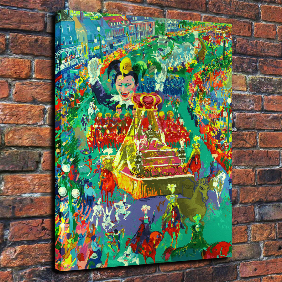 LeRoy Neiman Music and Sports Event Color Print Canvas Painting Living Room Bedroom Home Decor Modern Mural Art Oil Painting#013