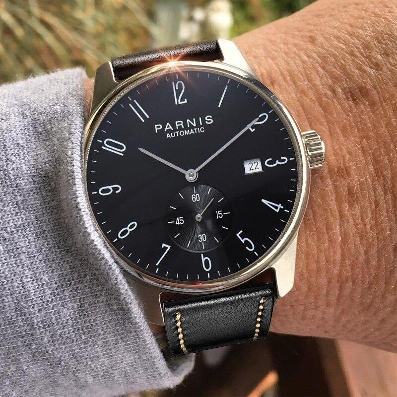 パーニス機械式時計ダイバーミニマリスト腕時計男性用腕時計高級防水自動やつレロジオ Masculino 2019  グループ上の 腕時計 からの 機械式時計 の中 2