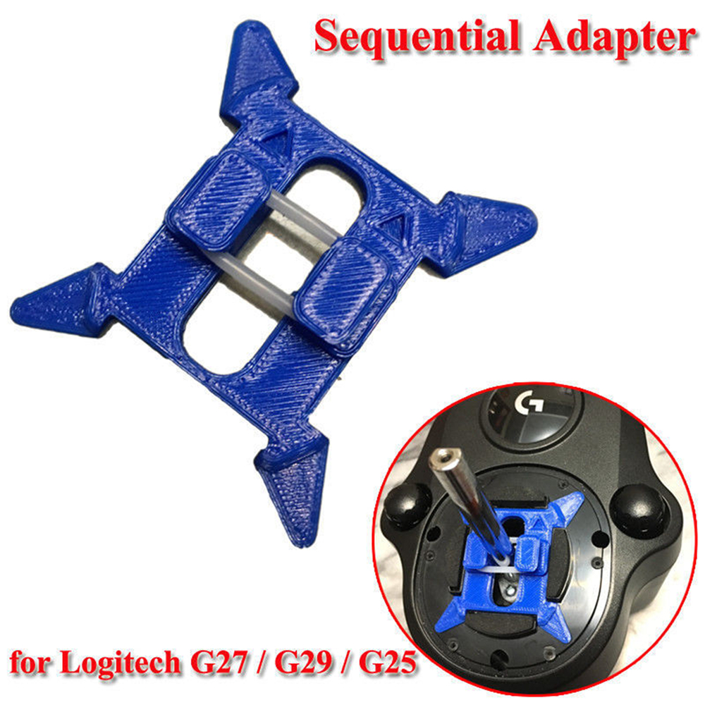 Gear Shift Adapter Pad For Logitech G27 G29 G920 G25 Sequential Adapter Pad Set Steering Wheel Modification Kit Enhanced Feel