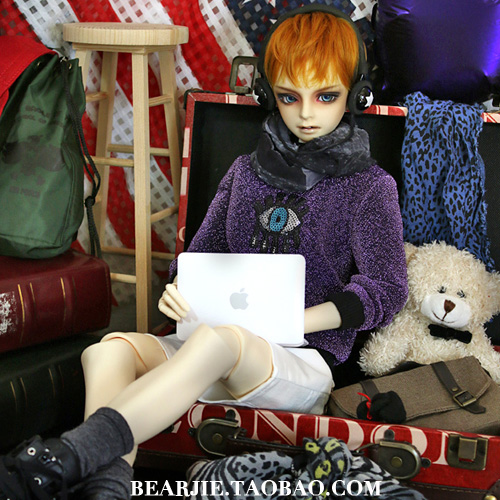 1/4 1/3 MSD SD17 UNCLE BJD Doll accessories Bjd clothes  shirt unisex irregular long t shirt for bjd doll 1 6 yosd 1 4 msd 1 3 sd10 sd13 sd16 sd17 uncle luts dod as dz sd doll clothes cwb7