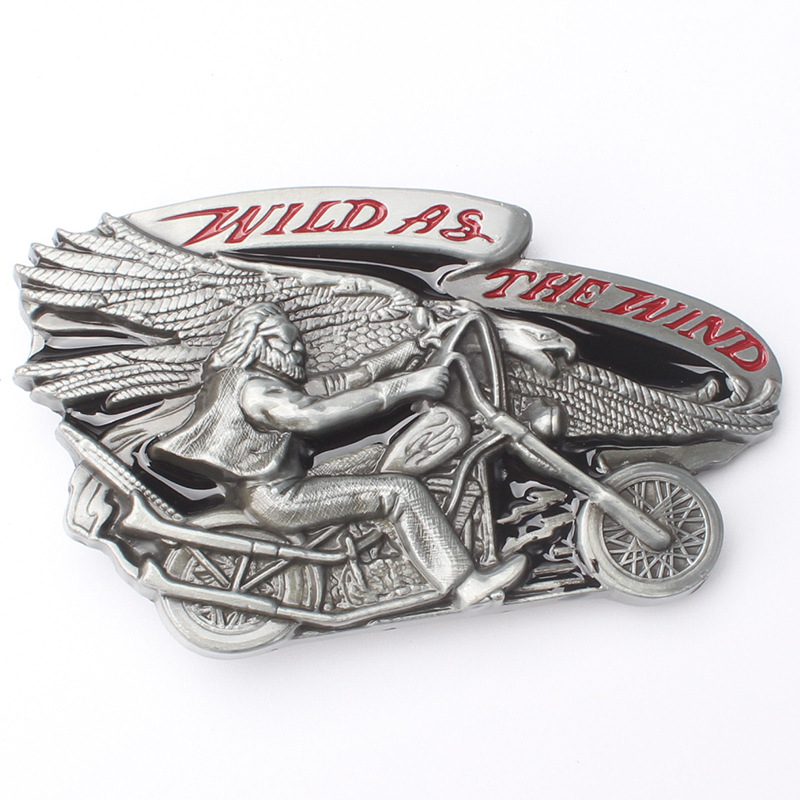 Motorcycle Eagle The Fashion Metal Belt Buckle