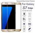 Newest 3D Curve 9H Hardness Tempered Glass For Samsung Galaxy S7 Edge Glass Screen Protector For Galaxy S7 Edge Ultrathin Glass