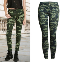 2018 Army Pants For Women Brand Womens Camouflage Pants 5XL Plus Size Imported Female Leggings Pencil