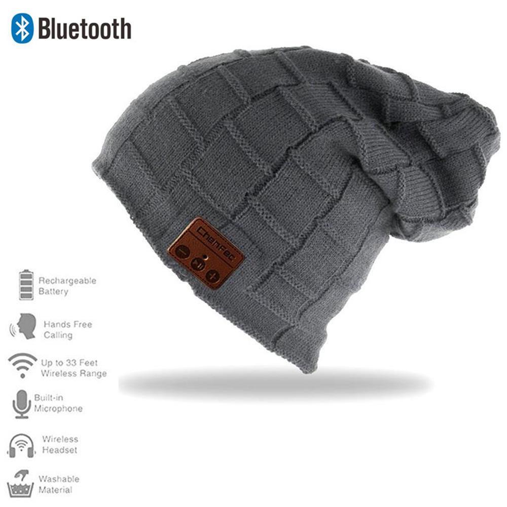 Bluetooth Hat Knitted Winter Beanie mp3 Music Bluetooth Hat Cap Speaker Sport Women/Men Bluetooth Headset Headphone Earphone