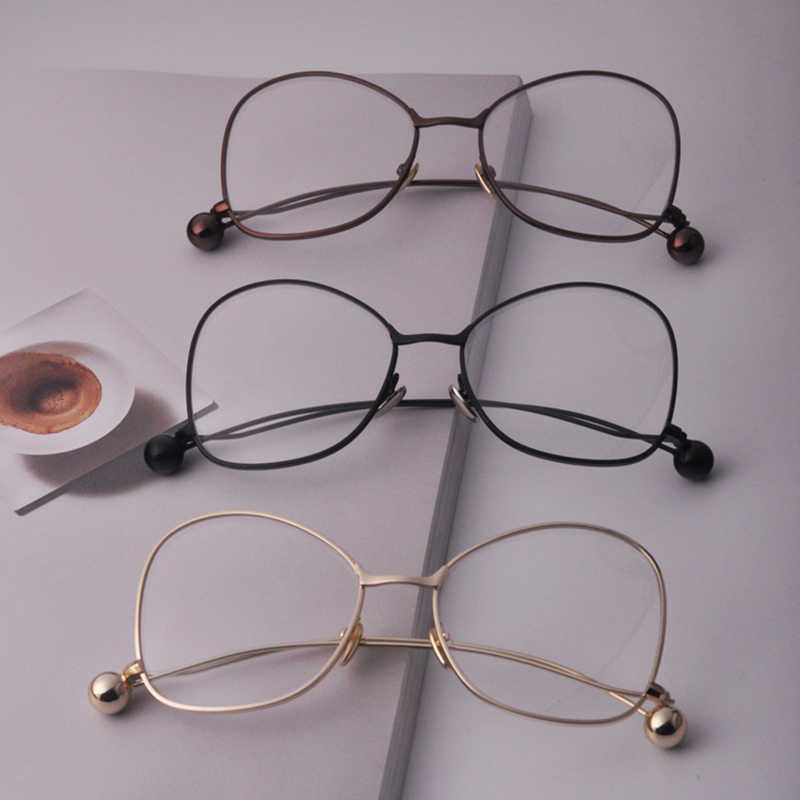 31a3cd0222c3 ... DRESSUUP 2017 Metal Frame Round Ball Kids Eyeglasses Optical High  Quality Fashion Glasses Frames Boys Girls ...