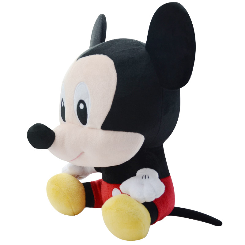 Genuine Disney Mickey Mouse Minnie Mouse Cotton Kawaii Plush Stuffed
