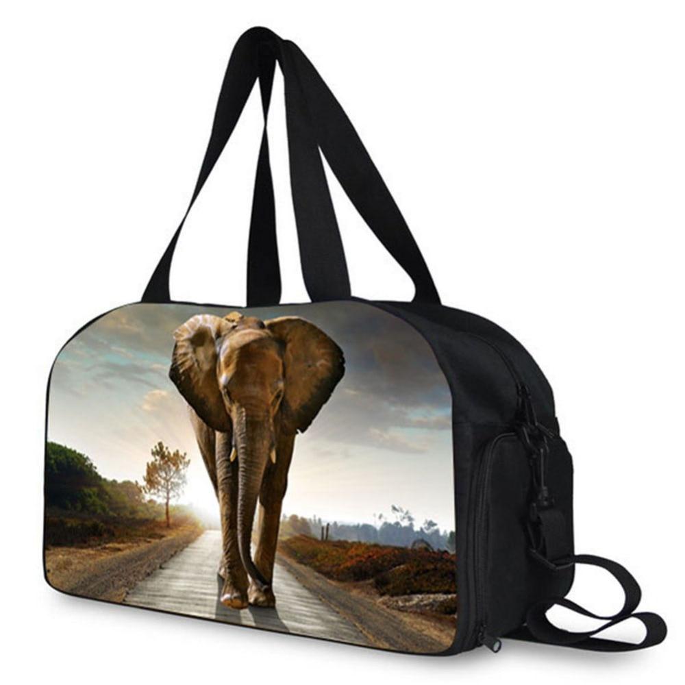 2017 Elefante e Leão Padrão de Moda