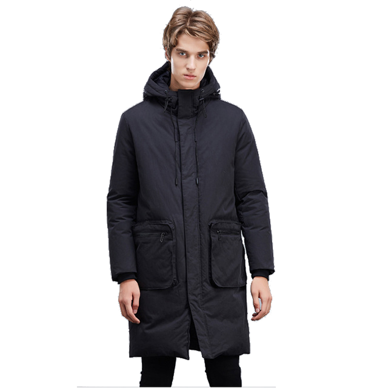 2017 Winter Cotton Jackets Men Long Thick Warm Coat Outwear New Fashion Brand Clothing Male Jacket Coat hot sale winter jacket men fashion cotton coat warm parka homme men s causal outwear hoodies clothing mens jackets and coats