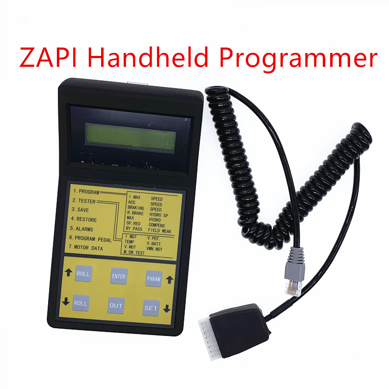 Lowest price for all shops  New original  China made ZAPI controller programmer for Zapi controllerChargers   -