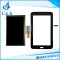 Для Samsung Galaxy Tab 3 Lite 7.0 VE SM-T113 T113 жк-дисплей с сенсорным экраном дигитайзер стеклянная панель запасные части бесплатно доставка