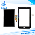 for Samsung Galaxy Tab 3 Lite 7.0 VE SM-T113 T113 lcd display touch screen digitizer glass panel replacement parts free shipping