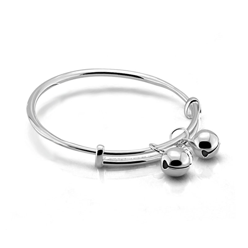 Fashion simple children sterling silver s