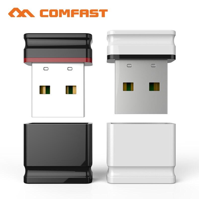 1000pcs DHL RTL8188EUS Comfast Wifi Adapter USB Lan Dongle 2dbi Antenna 802.11b/g/n 150Mbps Wlan Receiver Network Card CF-WU810N