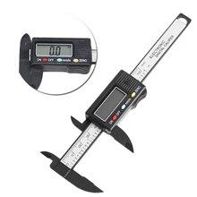 LCD Electronic Digital Vernier Caliper Gauge 100mm 4 inch Measure Micrometer New
