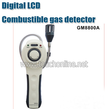 Free shipping Digital LCD Combustible gas detector GM8800A