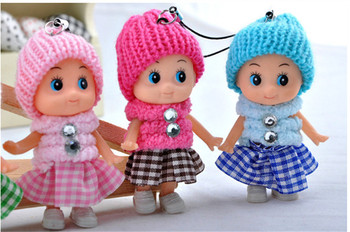 2019 hot sale Kids Toys Soft Interactive Baby Dolls Toy Mini Doll For girls and boys Dolls & Stuffed Toys