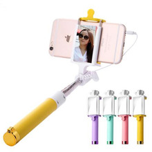 Handheld Mirror Selfie Stick Monopod for iPhone 6 6s Plus 5s For Samsung Android IOS Back/Front Camera Groove Palo Selfie