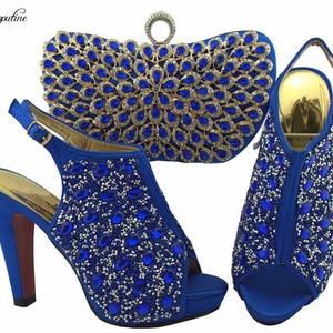 Gorgeous party royal blue sand